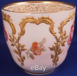 Antique 20thC KPM Berlin Porcelain Neuzierat Cup & Saucer Porzellan Tasse German
