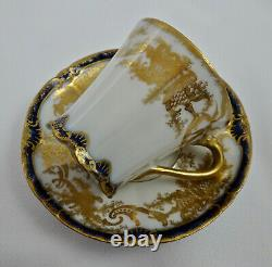 Antique Theodore Haviland Limoges Demitasse Cup & Saucer