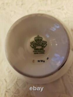 Beautiful Aynsley Black Trio Fruit Orchard-HAND PAINTEDTea Cup, Saucer and plate