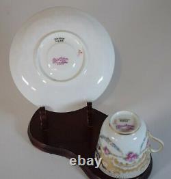 Cauldon Gold Demi-Tasse Cup & Saucer