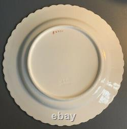 Extremely Rare 19th C Mintons Butterfly Cup saucer Plate Trio Painted Gold G2771