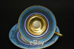 Furstenberg German Cobalt Blue & Gold Tea Cup & Saucer Set (626/3)