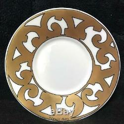 Hermes Porcelain Guadalquivir Gold Coffee Cup Saucer Tableware Ornament Auth New