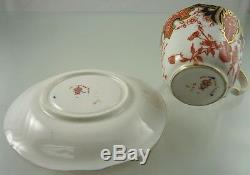 Imari 2712 Demitasse Cup & Saucer Scalloped By Royal Crown Derby 1916