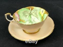 Insanely Rare Paragon Gold Pansy Cup & Saucer