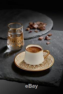 Koleksiyon Ottoman (Coffee Cups) cups & saucers (6 pcs) set