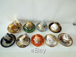 Le Tallec Cup Saucer Tiffany Celeste Pate Sur Pate Enamel Signed Numbered HP