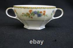 Lot of 22 Pc. Golden Pheasant (Octagonal) ALTROHLAU Footed Bouillon Cup & Saucer