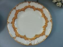 Meissen Cup & Saucer & Plate (white & gold)