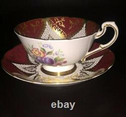 Paragon By Appointment To Her Majesty The Queen Bone Fine China Cup & Saucer