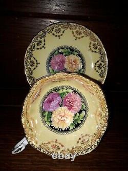 Paragon Majesty England Mums Bottom Gold Cup Saucer Teacup