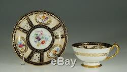 Paragon Queen Mary Tea Cup & Saucer Reproduction signed H. Holdencroft, England