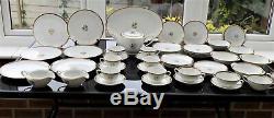 Part Noritake Gold Coast Dinner Service Teapot Platters Cups Saucers Plates Jugs