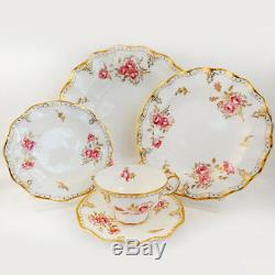 ROYAL PINXTON ROSES Royal Crown Derby Cup & Saucer NEW NEVER USED made England
