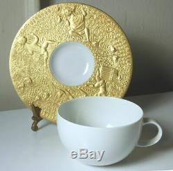 Rosenthal Wiinblad MAGIC FLUTE Gold Sarastro Cup/Saucer, Mint