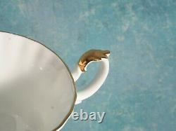 Royal Albert Val D'Or Dinner Set Bread Plates Cup Saucer Bone China England Gold