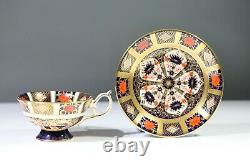 Royal Crown Derby Old Imari 1128 Elizabeth Tea Cup & Saucer Aa