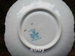 Shelley Foley Wileman Gilded Alexandra Cup Saucer Plate Trio c. 1895