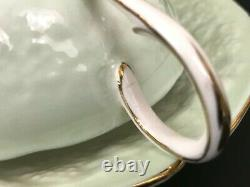 VTG Paragon 1935 Marks Fortune Telling'Signs & Omens' Tea Cup Saucer Gold Trim