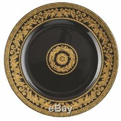 Versace By Rosenthal, Germany 25 Years Gold Baroque Tea Cup, Saucer, Dessert