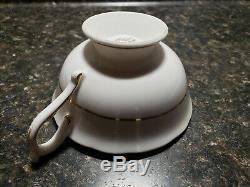 Vintage Paragon Double Warrant Cabbage Rose Tea Cup Saucer Bone China