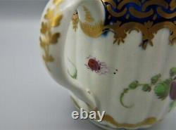 Worcester Dalhousie Pattern Coffee cup stunning example C1780 Scarce condition